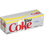 Coca-Cola Diet Coke Sweetened with Splenda 12 oz Cans