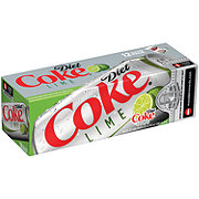 Coca-Cola Diet Coke with Lime 12 oz Cans