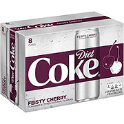 Coca-Cola Feisty Cherry Diet Coke 12 oz Cans