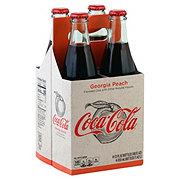 Coca-Cola Georgia Peach Coke 12 oz Bottles