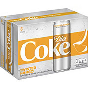 Coca-Cola Twisted Mango Diet Coke 12 oz Cans