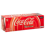 Coca-Cola Vanilla Coke 12 oz Cans