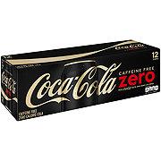 Coca-Cola Zero Calorie Caffeine Free Coke 12 oz Cans