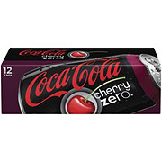 Coca-Cola Zero Calorie Cherry Coke 12 oz Cans