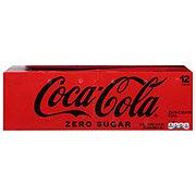Coca-Cola Zero Calorie Coke 12 oz Cans