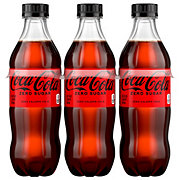 Coca-Cola Zero Calorie Coke 16.9 oz Bottles