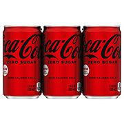 Coca-Cola Zero Calorie Coke 7.5 oz Cans