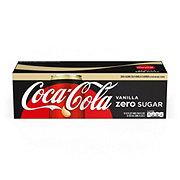 Coca-Cola Zero Calorie Vanilla Coke 12 oz Cans