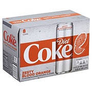 Coca-Cola Zesty Blood Orange Diet Coke 12 oz Cans