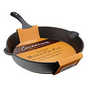 Cocinaware 10 Inch Pre-Seasoned Cast Iron Fry Pan
