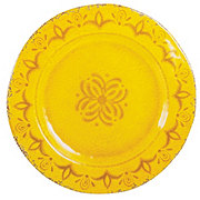 Cocinaware 11 Melamine Round Dinner Plate Gold Shop Dishes At H E B