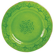 Cocinaware 11 Melamine Round Dinner Plate Green Shop Dishes At H E B