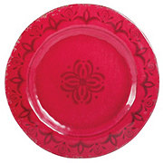 "Cocinaware 11"" Melamine Round Dinner Plate, Red"