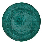 """Cocinaware 11"""" Round Dinner Plate, Turquoise"""