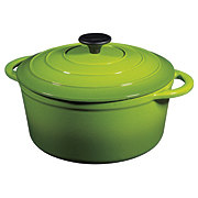 Cocinaware 5.2 QT Green Enamel Cast Iron Dutch Oven