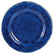 Cocinaware 9 Melamine Round Salad Plate Blue Shop Dishes At H E B