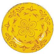 "Cocinaware 9"" Melamine Round Salad Plate, Gold"