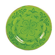 Cocinaware 9 Melamine Round Salad Plate Green Shop Dishes At H E B