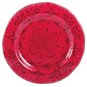 Cocinaware 9 Melamine Round Salad Plate Red Shop Dishes At H E B