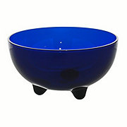 Cocinaware Acrylic Footed Salsa Bowl, Cobalt Blue