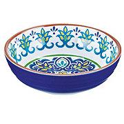 Cocinaware Blue Mosaic Melamine Bowl