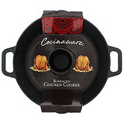 Cocinaware Cast Iron Borracho Chicken Cooker