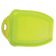 Cocinaware Chop & Scoop Green Cutting Board