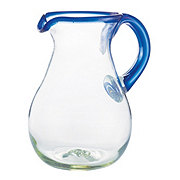 Cocinaware Cobalt Blue Mexican Bubble Glass Pitcher