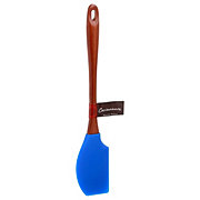 Cocinaware Cobalt Blue Silicone Spatula With Wood Handle