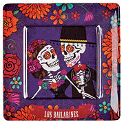 Cocinaware Day Of The Dead Dancing Couple Square Plate
