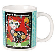 Cocinaware Day Of The Dead El Gato Mug
