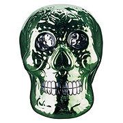 Cocinaware Day Of The Dead Green Metallic 3D Skull
