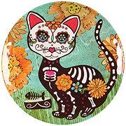 Cocinaware Day Of The Dead Melamine Gato Side Plate