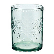 Cocinaware Double Old Fashioned Fiesta Spanish Green Tumbler