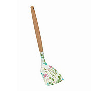 Cocinaware Floral Slotted Turner With Wood Handle