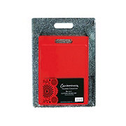 Cocinaware Granite/ Red Poly Cutting Boards