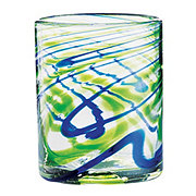 Cocinaware Green & Blue Swirl Mexican Bubble Small Tumbler
