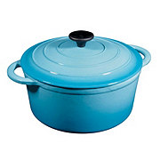 Cocinaware Light Blue Enamel Cast Iron Dutch Oven