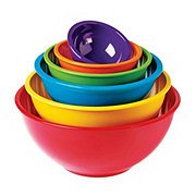 Cocinaware Nested Mixing and Prep Bowls, Assorted Colors