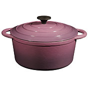 Cocinaware Purple Enamel Cast Iron Dutch Oven