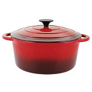 Cocinaware Red Enamel Cast Iron Dutch Oven