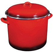 Cocinaware Red Enamel Stock Pot