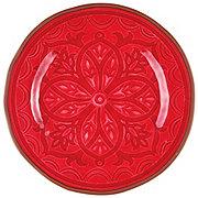 Cocinaware Red Medallion Dinner Plate