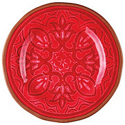 Cocinaware Red Medallion Salad Plate