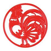Cocinaware Red Rooster Trivet