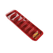 Cocinaware Red Taco Tray
