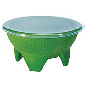 Cocinaware Salsa Bowl With Lid Green