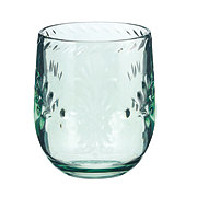 Cocinaware Spanish Green Fiesta Stemless Wine