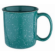 Cocinaware Stoneware Turquoise Speckled Mug