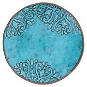 Cocinaware Summer Fest Melamine Dinner Plate Turquoise